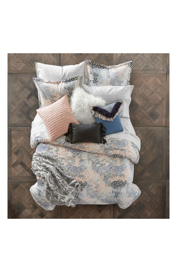 Bcbgeneration Pebble Noir Comforter & Sham Set, Size Twin X-Long - White