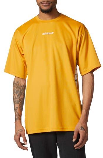 Men's Adidas Originals Tnt Tape T-Shirt, Size Medium - Yellow