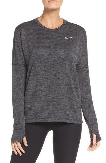 Nike Therma Sphere Element Running Top, Black
