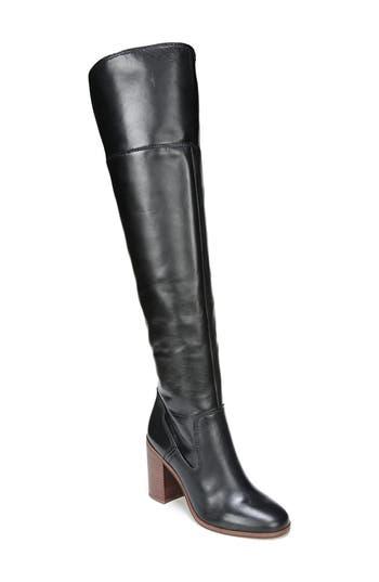 Sarto By Franco Sarto Freda Over The Knee Boot, Black