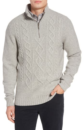 Rodd & Gunn Cape Scoresby Wool Sweater, Grey