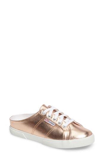 Superga 2288 Sneaker Mule, Metallic