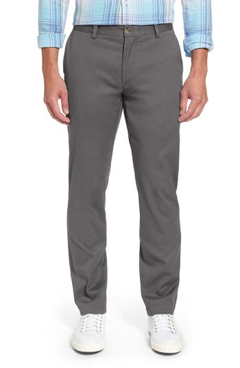 Breaker Flat Front Stretch Cotton Pants