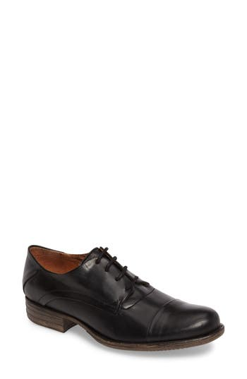 Miz Mooz Letty Oxford Flat- Black