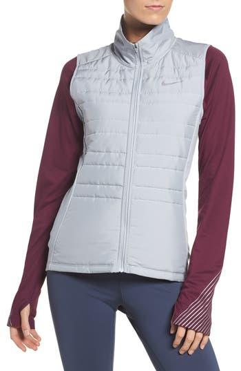 Nike Essentials Running Vest, Grey