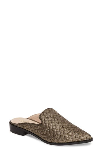 Shellys London Fantasia Loafer Mule Metallic
