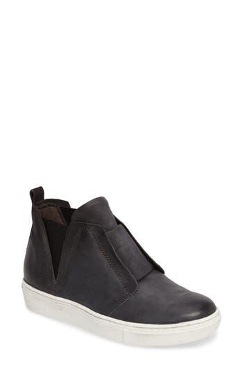 Miz Mooz Laurent High Top Sneaker, Grey