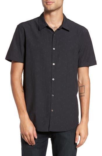 Men's John Varvatos Mayfield Slim Fit Print Short Sleeve Sport Shirt