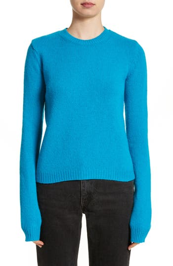 Acne Studios Siw Wool Sweater, Blue