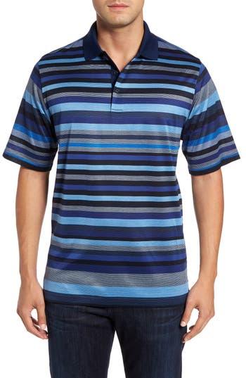 Men's Bugatchi Classic Fit Stripe Jersey Polo