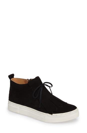 Seychelles West End Kiltie Sneaker, Black