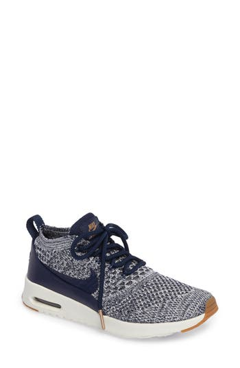 Nike Air Max Thea Ultra Flyknit Sneaker, Blue