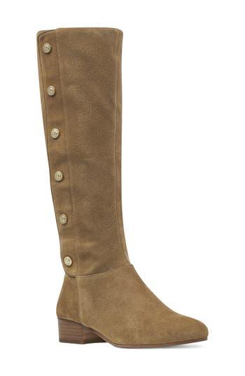 Nine West Oreyan Knee High Boot, Regular Calf- Green