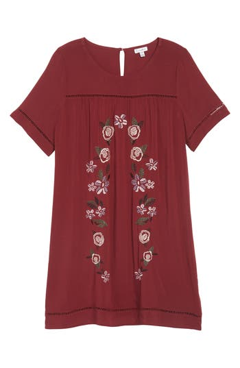 Love, Fire Embroidered Dress