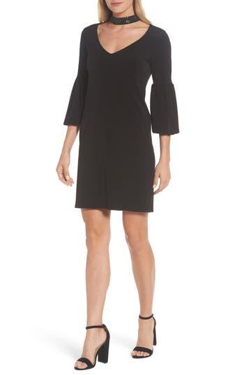 Velvet By Graham & Spencer Embellished Choker Neck Dress, Black