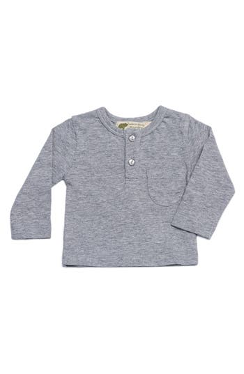 Infant Boys Monica  Andy Organic Cotton Henley TShirt
