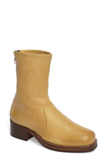 Topshop Aaron Sock Bootie - Yellow