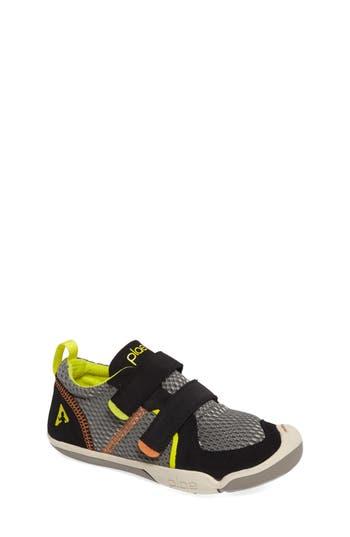 Boys Plae Ty Customizable Sneaker Size 1 M  Black