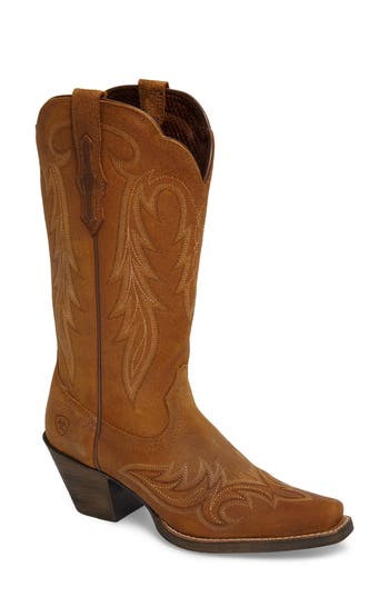 Ariat Round Up Renegade Western Boot- Brown