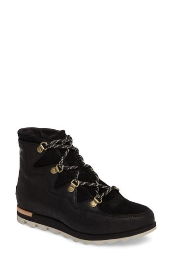Sorel Sneakchic Alpine Waterproof Bootie, Black