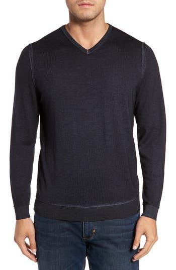 Tommy Bahama Magic Sands Merino Wool Sweater, Black