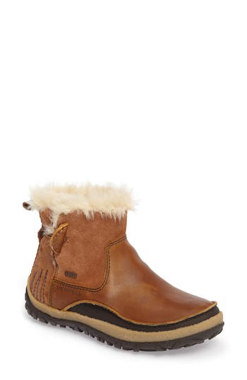 Merrell Tremblant Pull-On Polar Waterproof Bootie- Brown
