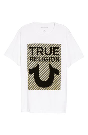 True Religion Brand Jeans True U T-Shirt, White