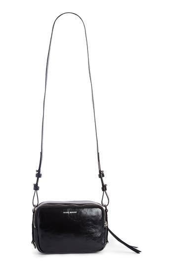 Isabel Marant Tinley Studded Leather Crossbody Bag - Black at NORDSTROM.com