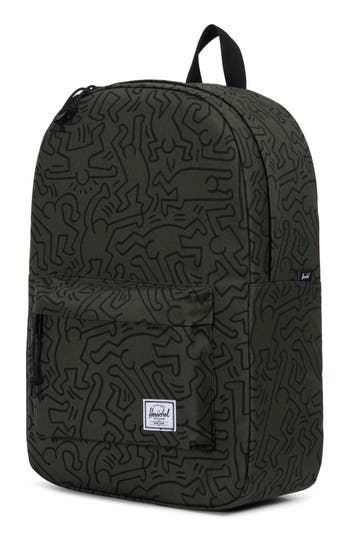 Herschel Supply Co. Winlaw X Keith Haring Backpack - Green