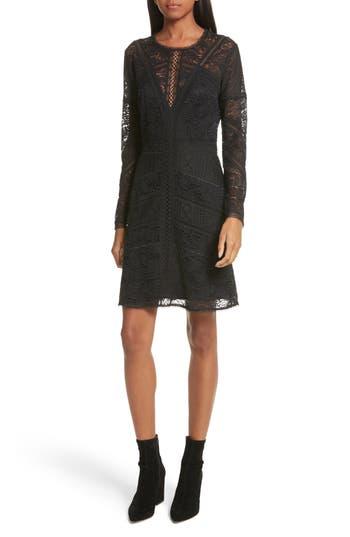 The Kooples Lace Dress, Black
