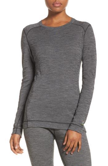 Smartwool Merino Wool 250 Base Layer Top, Black