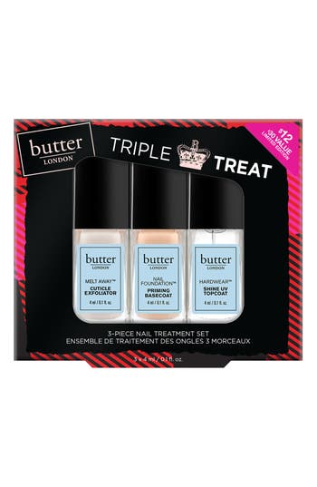 Butter London Triple Treat Set - No Color