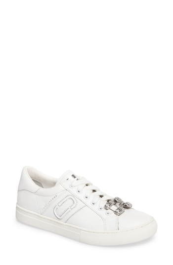 Marc Jacobs Empire Chain Link Sneaker, White