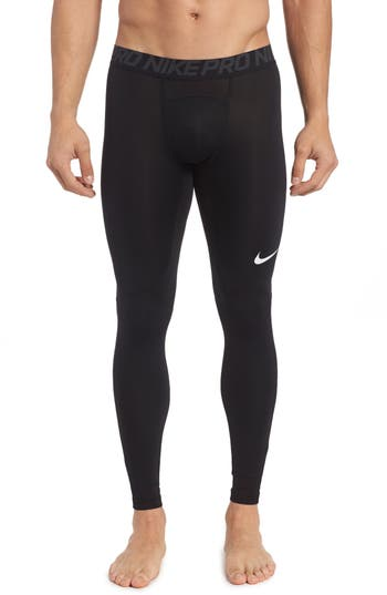 Nike Pro Athletic Tights, Black