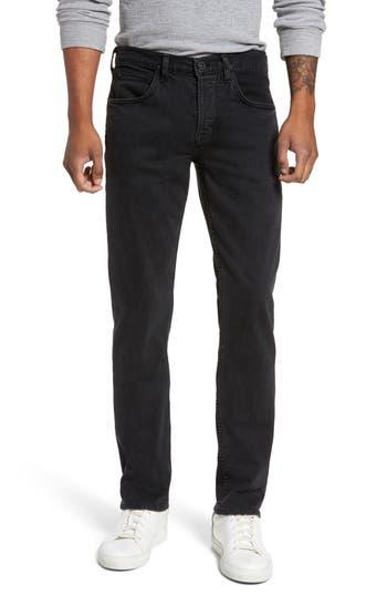 Hudson Jeans Byron Slim Straight Fit Jeans, Black