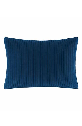 Nautica Cape Coral Pick Stitch Pillow, Size One Size - Blue