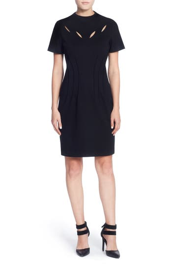 Catherine Catherine Malandrino Jesse Sheath Dress, Black