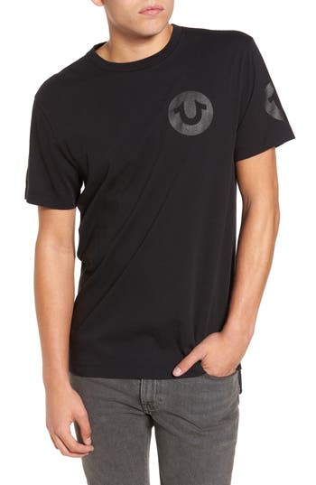 True Religion Brand Jeans Graphic T-Shirt, Black