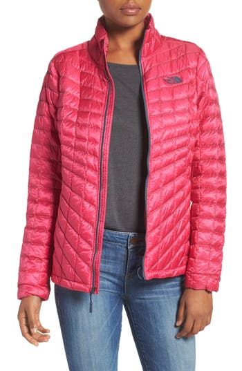 Women's The North Face Thermoball(TM) Full Zip Jacket, Size X-Small - Pink