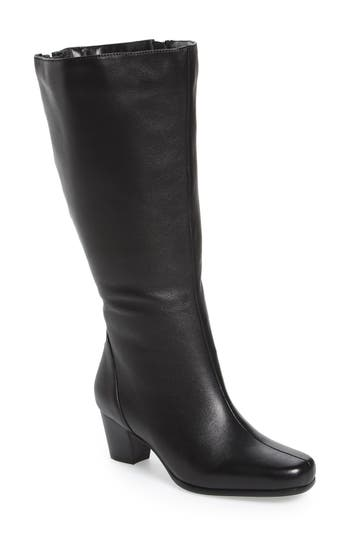 David Tate Tacoma 18 Tall Boot, Black