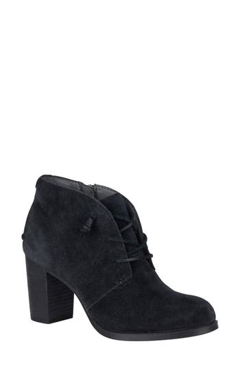 Sperry Dasher Gale Lace-Up Bootie, Black