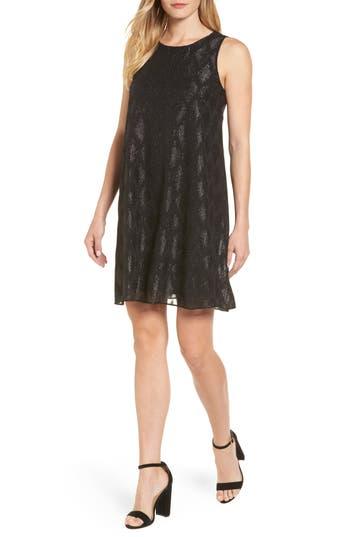 Halogen Chiffon Tank Dress, Black