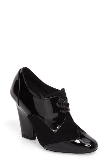 Jeffrey Campbell Whitley Oxford Pump, Black