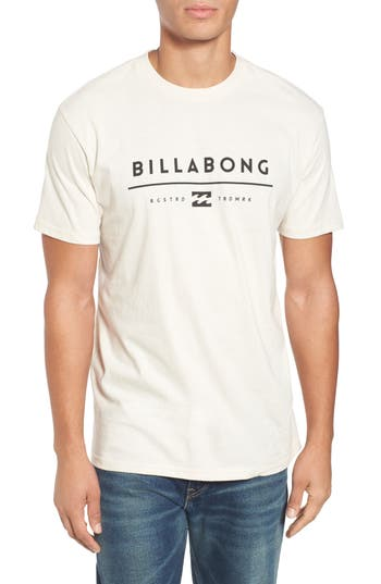 Billabong Unity Logo Graphic T-Shirt, Beige