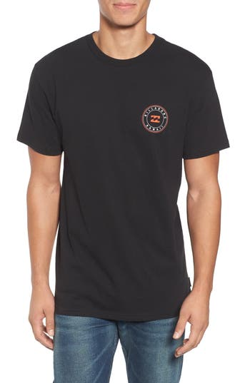 Billabong Native Rotor Hi Graphic T-Shirt, Black