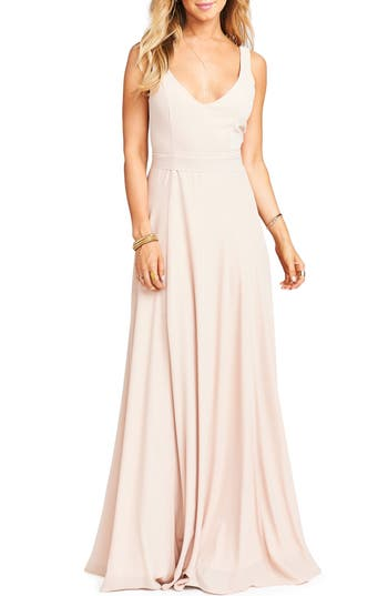 Show Me Your Mumu Jen Maxi Gown, Pink