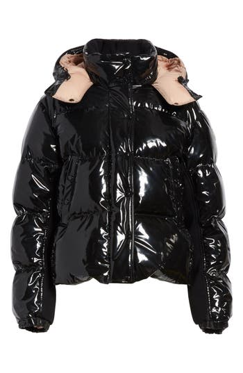 Women's Moncler Gaura Shiny Down Quilted Puffer Coat at NORDSTROM.com
