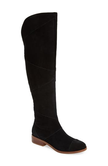Sole Society Tiff Over The Knee Boot- Black