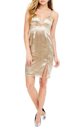 Astr The Label Amira Slipdress, Beige