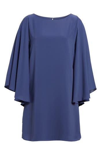 Chelsea28 Butterfly Sleeve Shift Dress, Blue